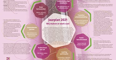 Infographic Jaarplan 2021.